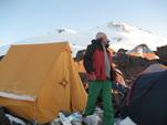 На подступак к вершине Эльбруса