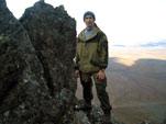 Альпинизм на вершине горы Кадет Полярный Урал